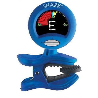 SNARK SN-1 Blue Clip-on Chromatic Instrument Tuner For Guitar Bass Ukelele Banjo