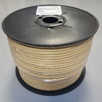 500 FT PPC CATV RG6 Cable SATELLITE White Coaxial 3GHz P6T77VVBFC PERFECT FLEX