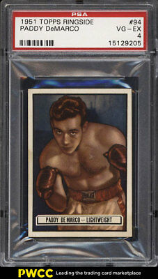 1951 Topps Ringside Paddy DeMarco #94 PSA 4 VGEX (PWCC)