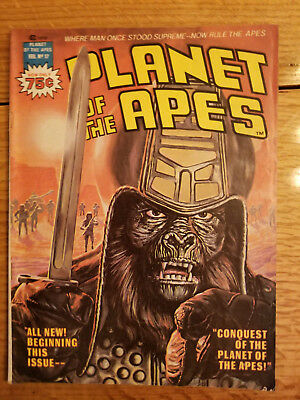 Planet of the Apes Vol1/#17 Feb/1976 Magazine Management, Inc