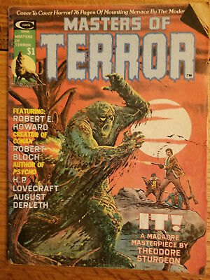 Curtis - Masters of Terror Vol 1/ No.1 Magazine Management July, 1975