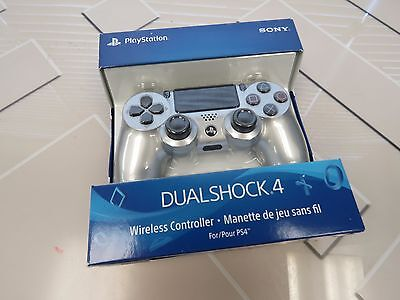 Sony PS4 DualShock 4 Wireless Controller - Silver (CUH-ZCT2U)