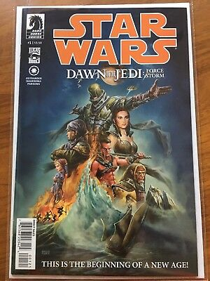 STAR WARS DAWN OF THE JEDI FORCE STORM #1. HTF FLORES Variant MYLITES2