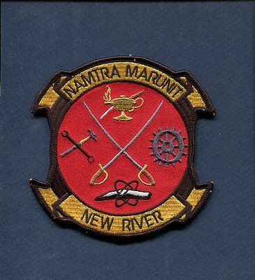 NAMTRA MARUNIT MCAS MARINE CORPS AIR STATION NEW RIVER Training Squadron Patch