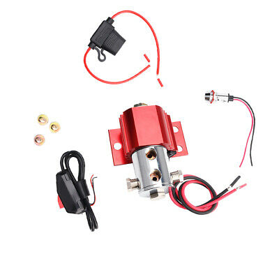 Front Brake Line Lock Red Electric Control Hill Holder for Ford Mustang
