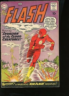 Flash 111 1960 2nd Kid Flash Tryout Graded 3.0 G-VG