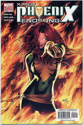 X-Men Phoenix Endsong #1 Limited Edition Variant Near Mint First Print