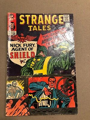 Strange Tales #135 (Aug 1965, Marvel). First SHIELD And Agent Nick Fury !