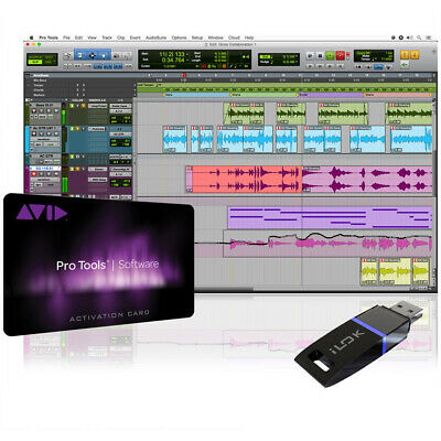Avid Pro Tools 12 Annual Subscription - Card and iLok2