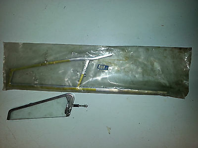MG Midget/AH Sprite - LH Quarter Light frame plus glass - Excellent condition