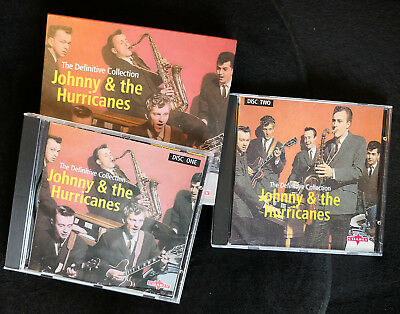 Johnny & The Hurricanes~The Definitive Collection~2 CD BOX SET