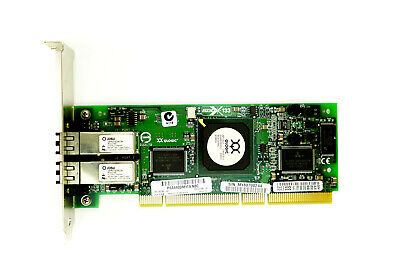 HP QLA2432 Dual Port - 2Gbps SFP Full Height PCI-X HBA