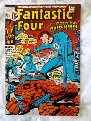 Fantastic Four 115 (1971) 1st app and Origin of the Eternals (5.5)