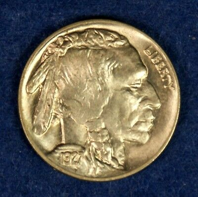 1927 5c Indian Head Buffalo Nickel - High Grade