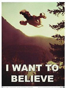 """Poster - Firefly - """"I Want to Believe"""" 27x40"""" New Licensed Gifts ffy-0194"""