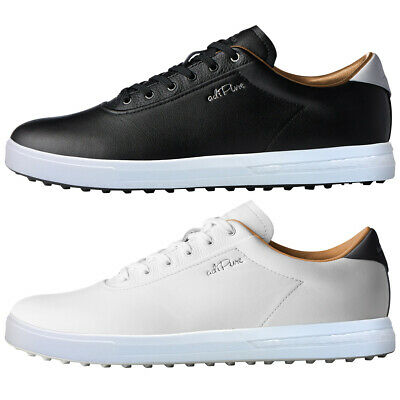 adidas Golf Mens 2019 Adipure SP Boost Spikeless Climaproof Leather Golf Shoes