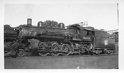 Y460 RP 1930/40s SOO LINE RAILROAD TRAIN ENGINE #803
