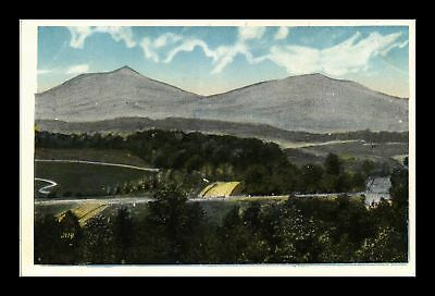 Dr Jim Stamps Us View Virginia Countryside And Mountains White Border Postcard