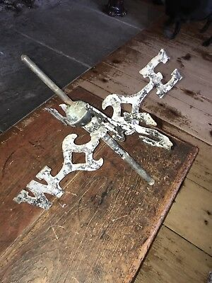 Antique Weathervane Directionals Cast Iron
