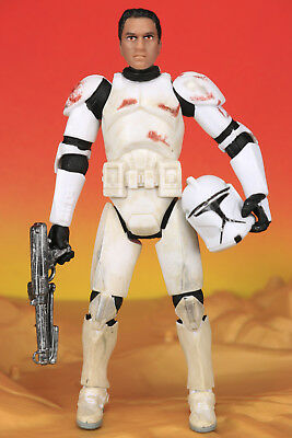 Star Wars 30th Clone Wars CLONE TROOPER to snowtooper Evolutions Figure Hasbro