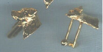 Border Terrier Gold Plated Cuff Links Cufflinks Set of 2 Jewelry
