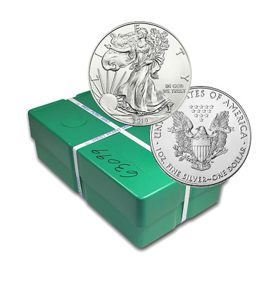 Five Hundred 2019 1oz American Silver Eagles Direct From Mint Box (19se)