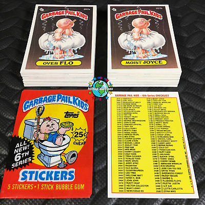 GARBAGE PAIL KIDS WE HATE THE 90s 2019 BASE+WACKY+WRAPPER COMPLETE 240-CARD SET