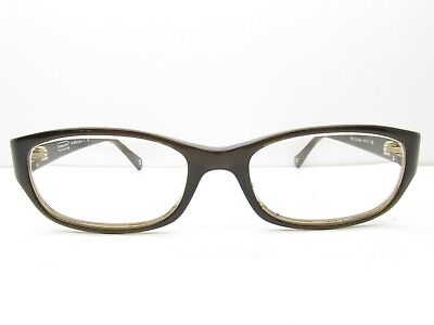 00b2a812e3 Coach HC 6008 Cadyn 5030 EYEGLASSES FRAMES 51-17-135 Olive Rectangle TV6  36779