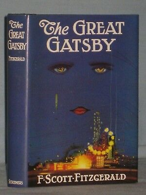 1953 Facsimile First Edition Reprint Book The Great Gatsby By F Scott Fitzgerald