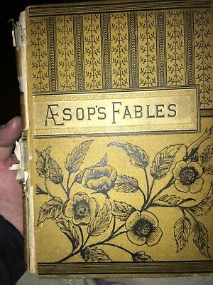 Aesop's Fables (between 120 and 140 years old )