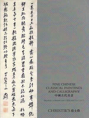 CHINESE CLASSICAL PAINTINGS & CALLIGRAPHY: Sotheby's HK 18 + results