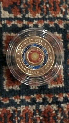 Anzac Eternal Flame Uncirculated In Protective Case $2 Coin