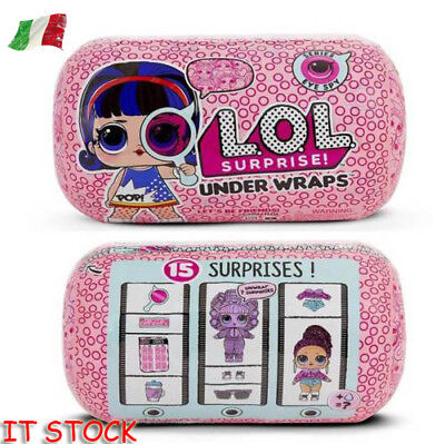 IT LOL Big Sister Doll NAVI VELOCE Sorpresa Eye Spy Series Under Wraps Capsule