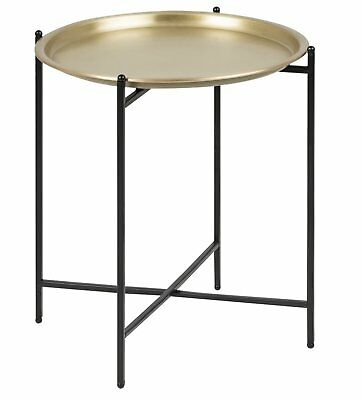 Pkline Side Table Ossi round Brass Color Corner Table Coffee Table Coffee Table