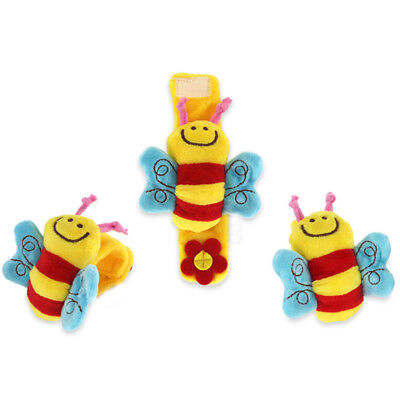 Multi Baby Hand Wrist Bell Rattles Toy Animal Shape Soft Infant Foot Sock Ideal