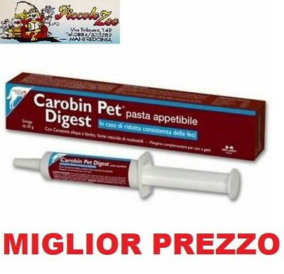 Carobin Pet Digest pasta appetibile 30gr per disturbi intestinali cani e gatti