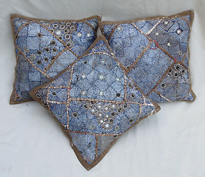 37x37cm Orient Patchwork Kissen Kissenhülle Embroidered pillow Cushion cover -F