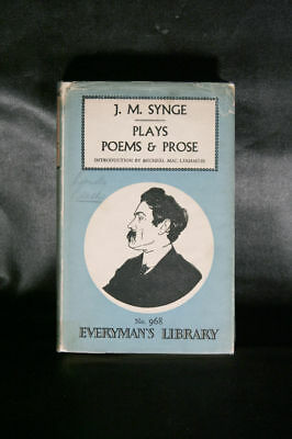 J.M. Synge's PLAYS, POEMS AND PROSE 1959