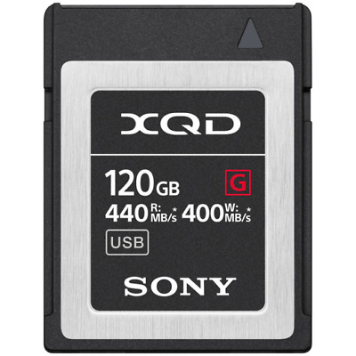 Sony 120GB G Series Up To 440MB/S Read & 400MB/s Write XQD Memory Card