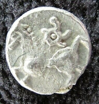 Ancient Celtic Silver Unit - Dunabe Celts Vindelici  circa 100 BC (+464)