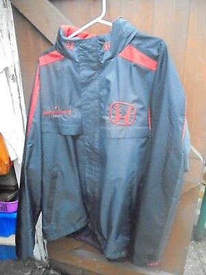Super Rare Formula 1 Honda Racing Team Jacket by Fila 3XL F1. Free Postage