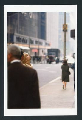 SYLVIE VARTAN in New York City 4x6 RARE PHOTO