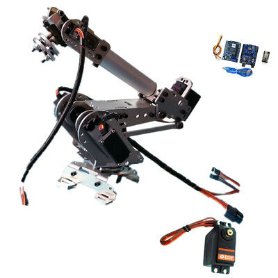 Wifi Control 5 DoF Metal Robot Arm Hand Robotic Manipulator Arm Claw