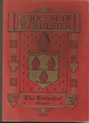 Diocese of Chester Blotter and  Booklet 1937