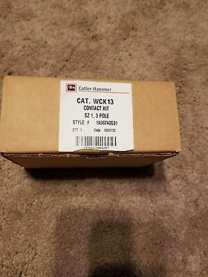 Brand New Cutler Hammer WCK13 Contact Kit 1A96740G01 NIB