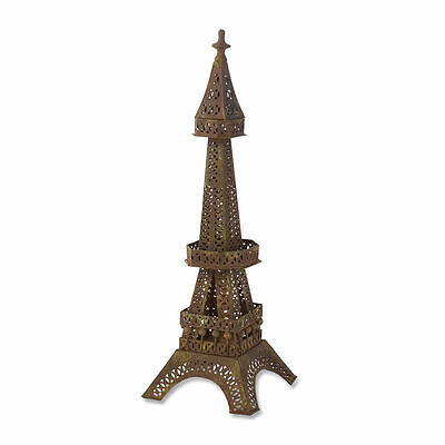 "Metal EIFFEL TOWER 24"" Jewelry Display with Hooks perfect home accent"