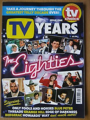 TV Years magazine issue One 1 The Eighties 1980s TV Choice Only Fools and Horses