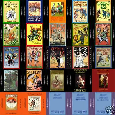 L. Frank Baum - Wizard of Oz Stories - Over 27 Audiobooks on mp3 DVD