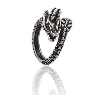 Dragon Ring Steel Stainless Fashion S Band Celtic Jewelry Silver Rings Men Women