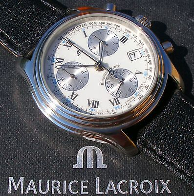 Edler Maurice Lacroix SCHLEPPZEIGER Chronograph